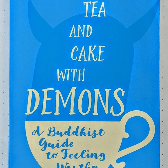 ♻️ SOLDTea And Cake With Demons Paperback Buddhism